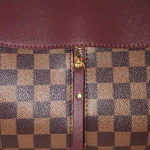 Handbags - BROWN CHECKERED HANDBAG FROM IRELAND